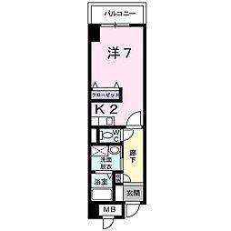 TAKADA.BLD.NO2[2階]の間取り