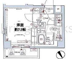 LUMEED上石神井[3階]の間取り