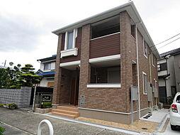 大阪府高槻市大蔵司3丁目の賃貸アパートの外観