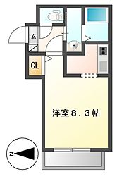 仮称Cherim岩塚[2階]の間取り