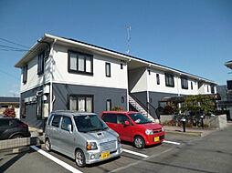 京都府京都市山科区小山中ノ川町の賃貸アパートの外観