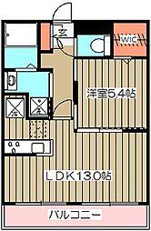 レジデンス小金井公園[307号室]の間取り