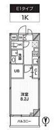 新築 レクシード武蔵関駅前[114号室号室]の間取り