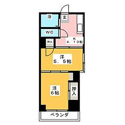 ひらのビル[3階]の間取り
