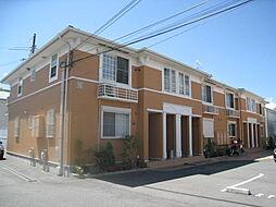 大阪府四條畷市砂1丁目の賃貸アパートの外観