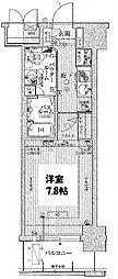 エステムコート新大阪VI エキスプレイス[3階]の間取り