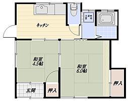 [一戸建] 埼玉県狭山市祇園 の賃貸【/】の間取り