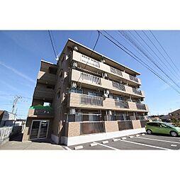 茨城県つくば市みどりの中央の賃貸マンションの外観