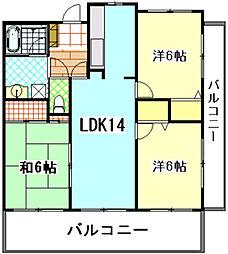 M1ビルド[5階]の間取り