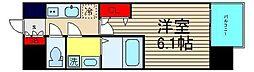 レオンコンフォート難波リオ[2階]の間取り