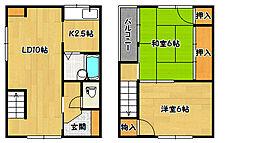 [一戸建] 兵庫県神戸市兵庫区駅前通2丁目 の賃貸【/】の間取り