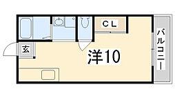 サンシティーJUN[2-E号室]の間取り