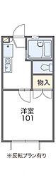ユーカリ[1階]の間取り