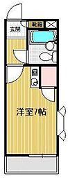 埼玉県飯能市柳町の賃貸マンションの間取り