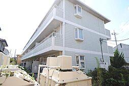 埼玉県越谷市千間台東3丁目の賃貸アパートの外観