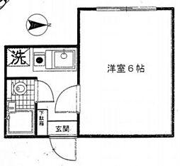 むさしのハウス[1階]の間取り