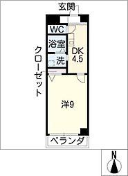 Dorf Adon[2階]の間取り
