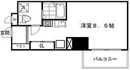サヴォイオーサーズプレイス[3階]の間取り