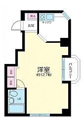 東京都練馬区豊玉北4丁目の賃貸マンションの間取り