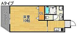 パークサウス[4階]の間取り