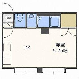パール1NOVAマンション[2階]の間取り