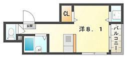 コンフォートチヒロ[5階]の間取り