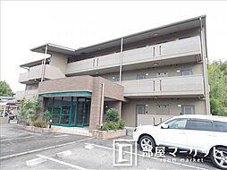 愛知県豊田市貝津町鳶山の賃貸マンションの外観