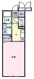 木村ロイヤルマンションV[204号室]の間取り