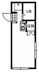ヒルズ高須[1階]の間取り