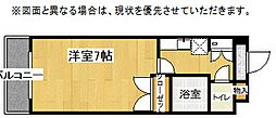 エンジョイスペースI[5階]の間取り