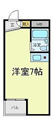 イズミステージ天王寺石ヶ辻[2階]の間取り
