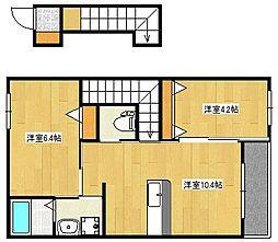 ブライトハウス日当山[2階]の間取り