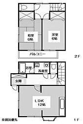 [テラスハウス] 神奈川県横浜市都筑区茅ケ崎東1丁目 の賃貸【/】の間取り