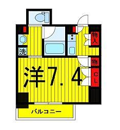 ザ・パークハビオ浅草駒形[902号室]の間取り