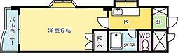IMZHILL片野(イムズビル片野)[603号室]の間取り