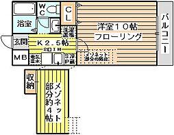 サンクチュアリ[2階]の間取り