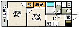 プレアール宝塚泉町[1階]の間取り