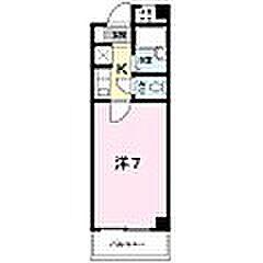 エスペランサ127[2階]の間取り