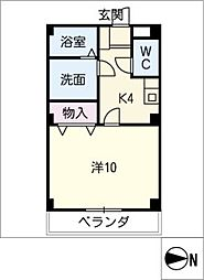 La mia casa[2階]の間取り