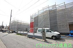 徳島県徳島市安宅3丁目の賃貸アパートの外観