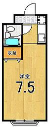 エトワール嵐山[309号室]の間取り