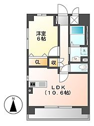 (仮称)岩塚本通1丁目マンション[1階]の間取り