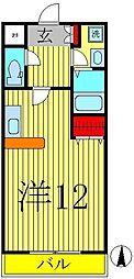 モアルヤタ藤[220号室]の間取り