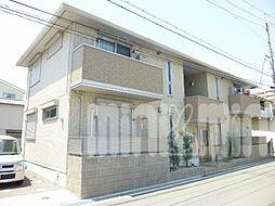 大阪府茨木市庄2丁目の賃貸アパートの外観