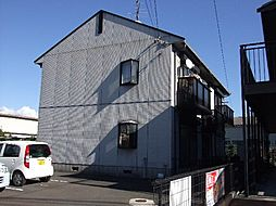 静岡県静岡市清水区蒲原の賃貸アパートの外観