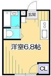 ファーストWiLL富士見台[1階]の間取り