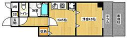 「ライオンズマンション五条大宮第2」[1階]の間取り