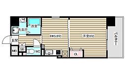 O・G・S FUKUSHIMA[8階]の間取り