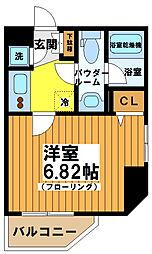 プレミアステージ笹塚[4階]の間取り