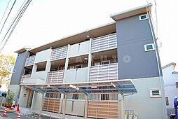 京都府京都市左京区北白川西町の賃貸アパートの外観